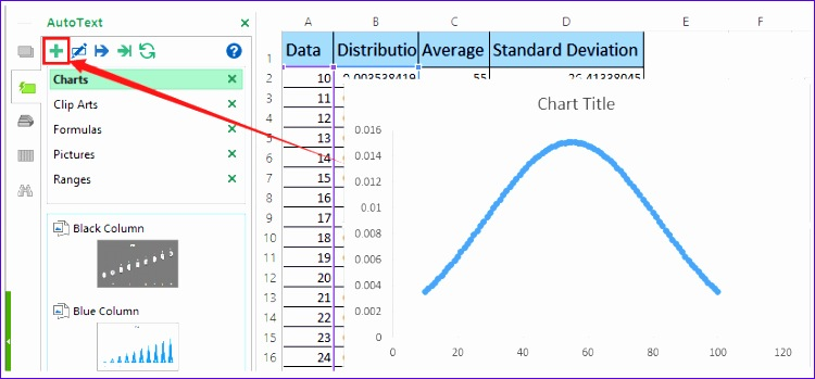 2404 excel template bell curve chart