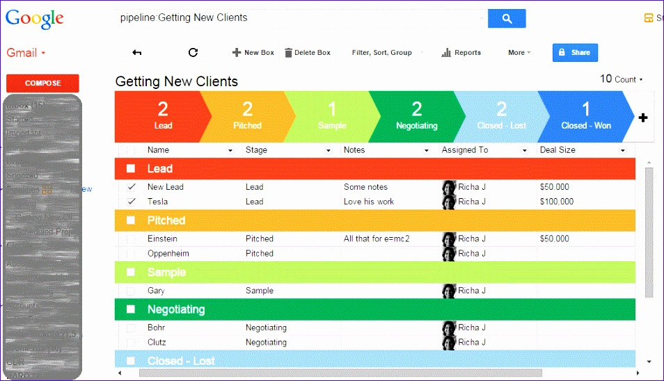 managing leads clients projects with streak 954548