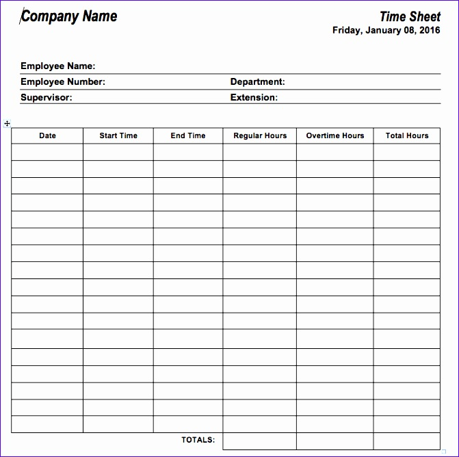 employee vacation time tracking sheet 2016