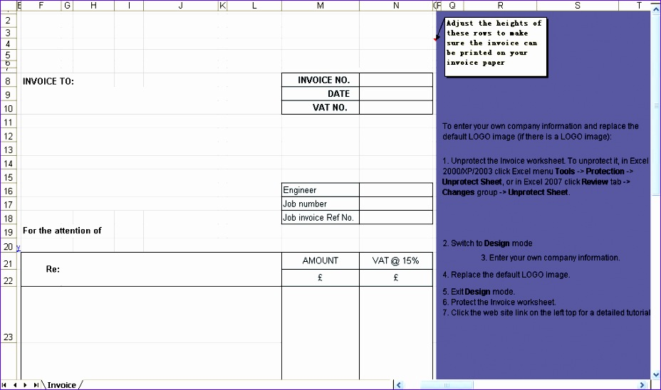 building service billing template 928548