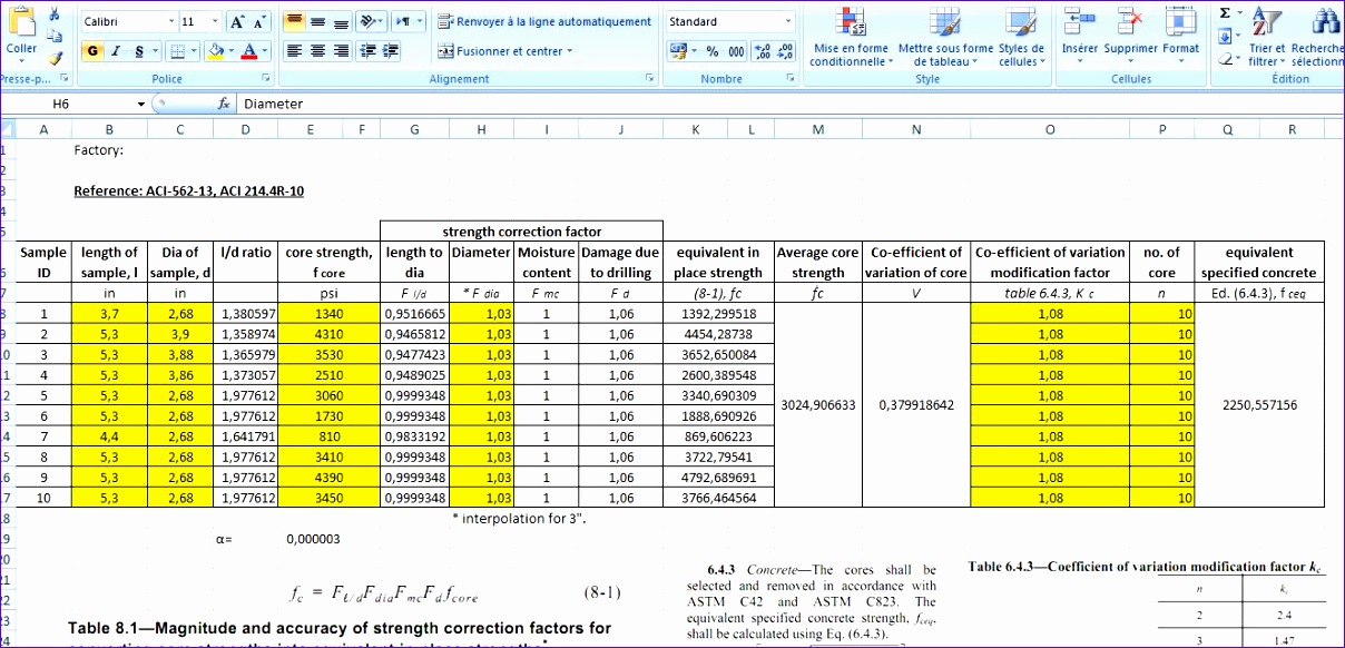 concrete takeoff spreadsheet 1208582