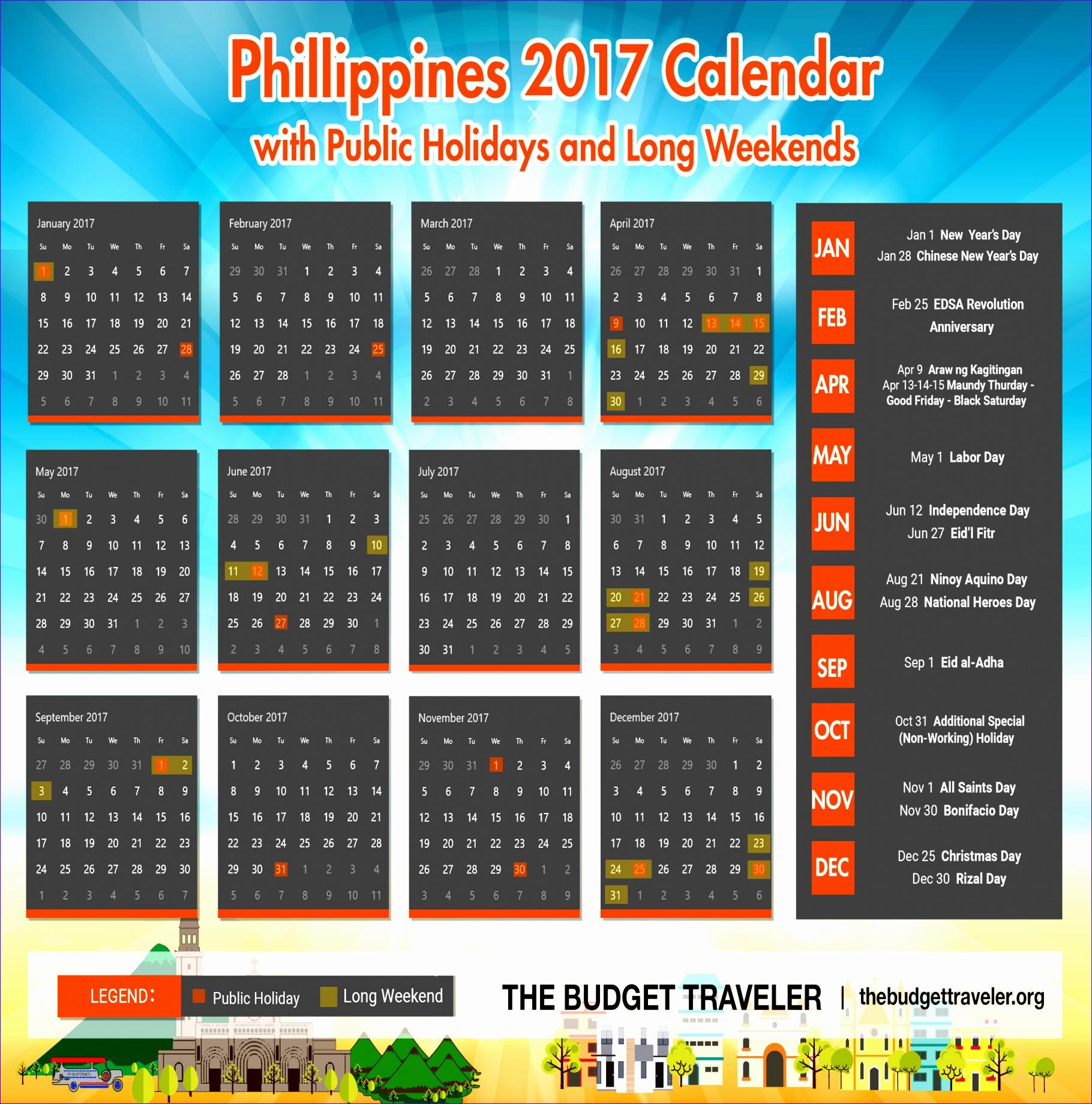 2017 calendar philippines 1313 18201840
