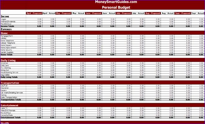 5 free excel spreadsheet templates 659398