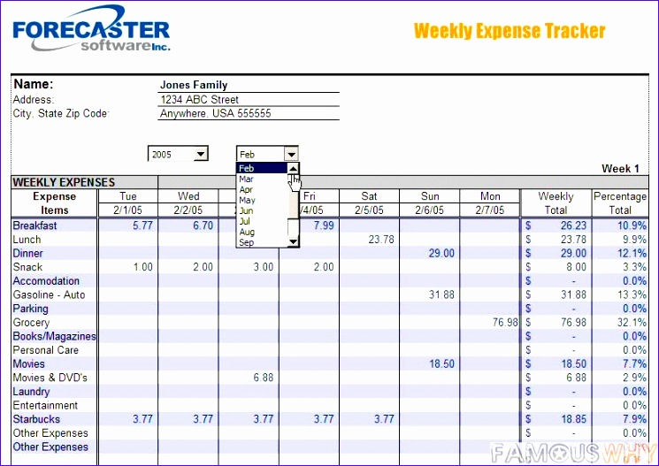 post money tracking template excel 745527