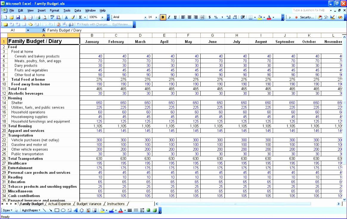 8 Budget Tracking Template Excel - ExcelTemplates - ExcelTemplates