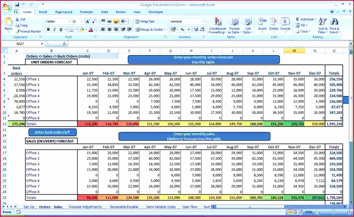 business bud template excel 1170717