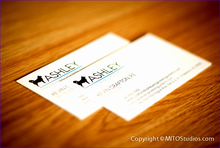 ashley engineering systems business cards 910613