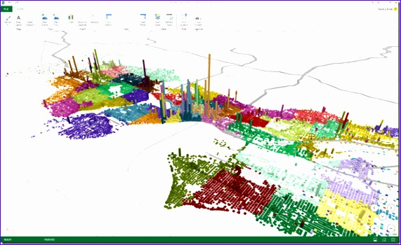 geoflow for excel 3d big data visualization built on bing maps 571350