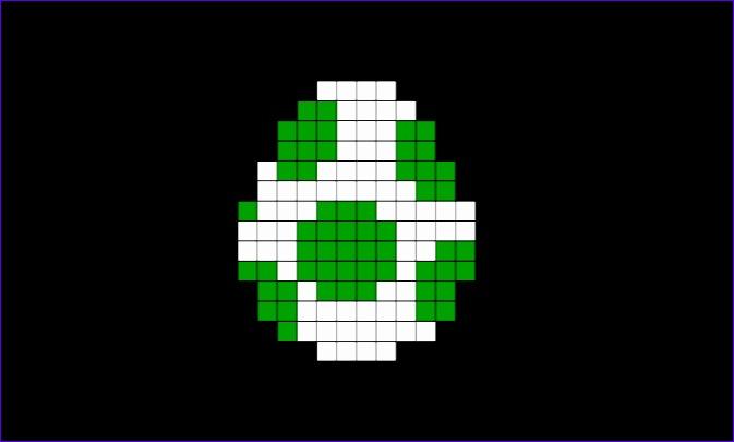 yoshi egg pixel art 673405