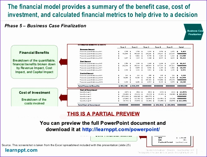 business case development toolkit with excel model 662502