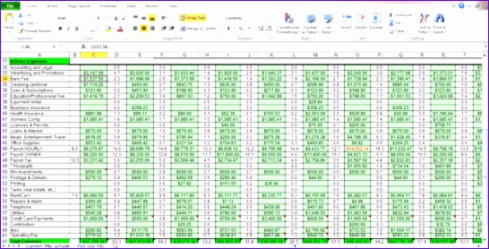 Business Excel Spreadsheet Templates Ubudd Unique Expenses Spreadsheet Template for Small Business 600303