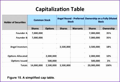 cap table 391267
