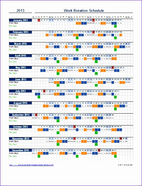 calendar work schedule template 483632