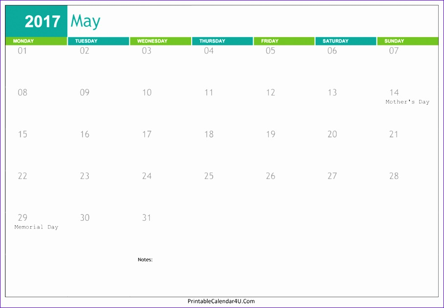 may 2017 calendar word 3242