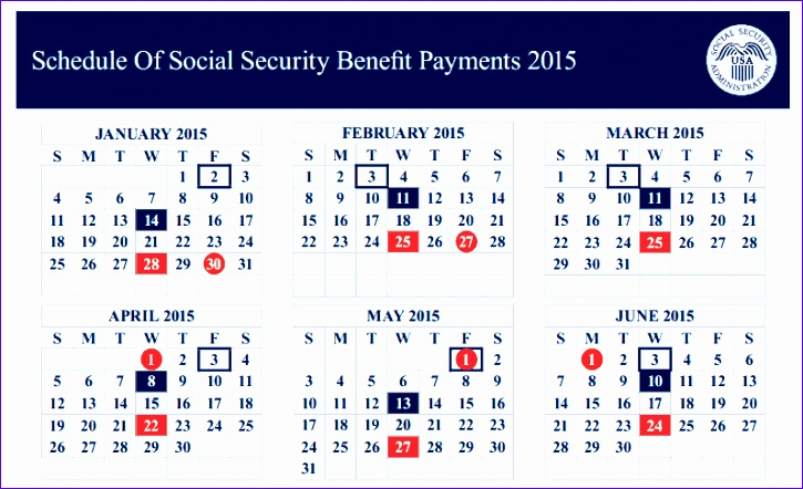 2016 calendar for ssi payday 725442