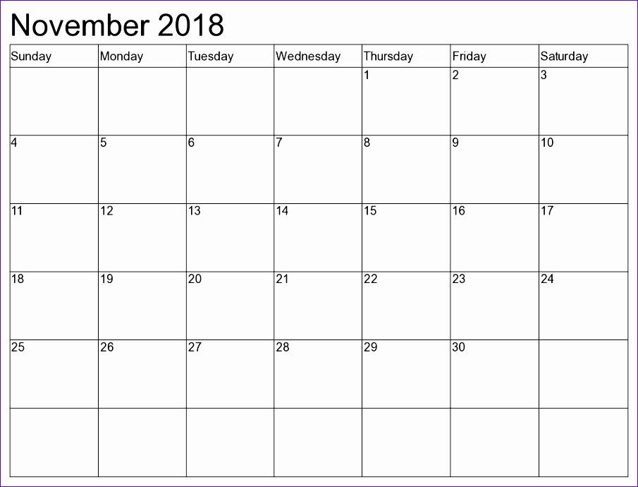 november 2018 calendar 206 905690