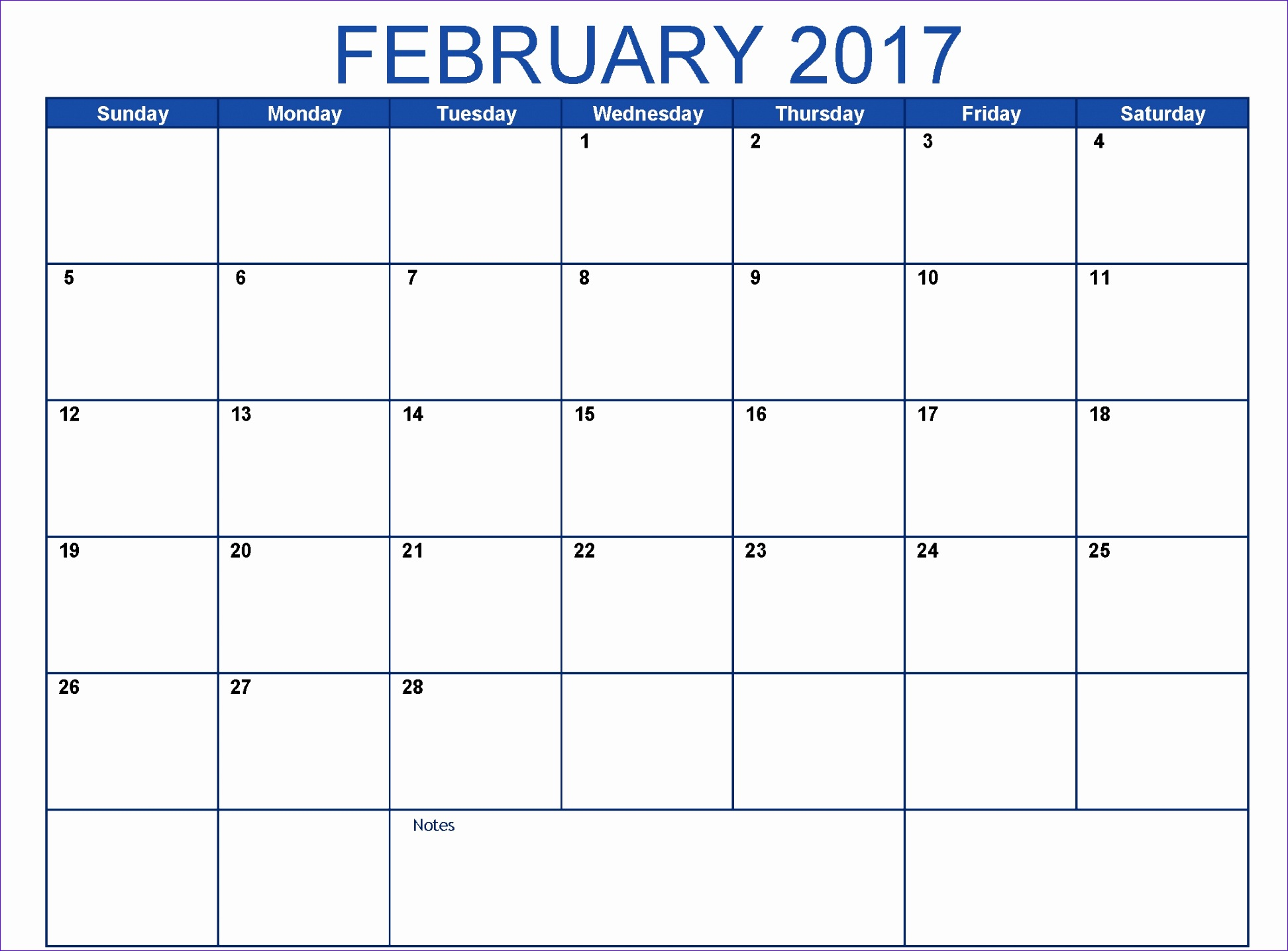 february 2017 printable calendar templates free printable pictures