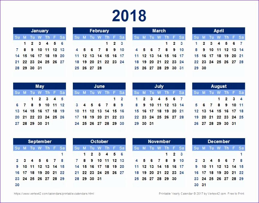 2018 calendar 1603 864676