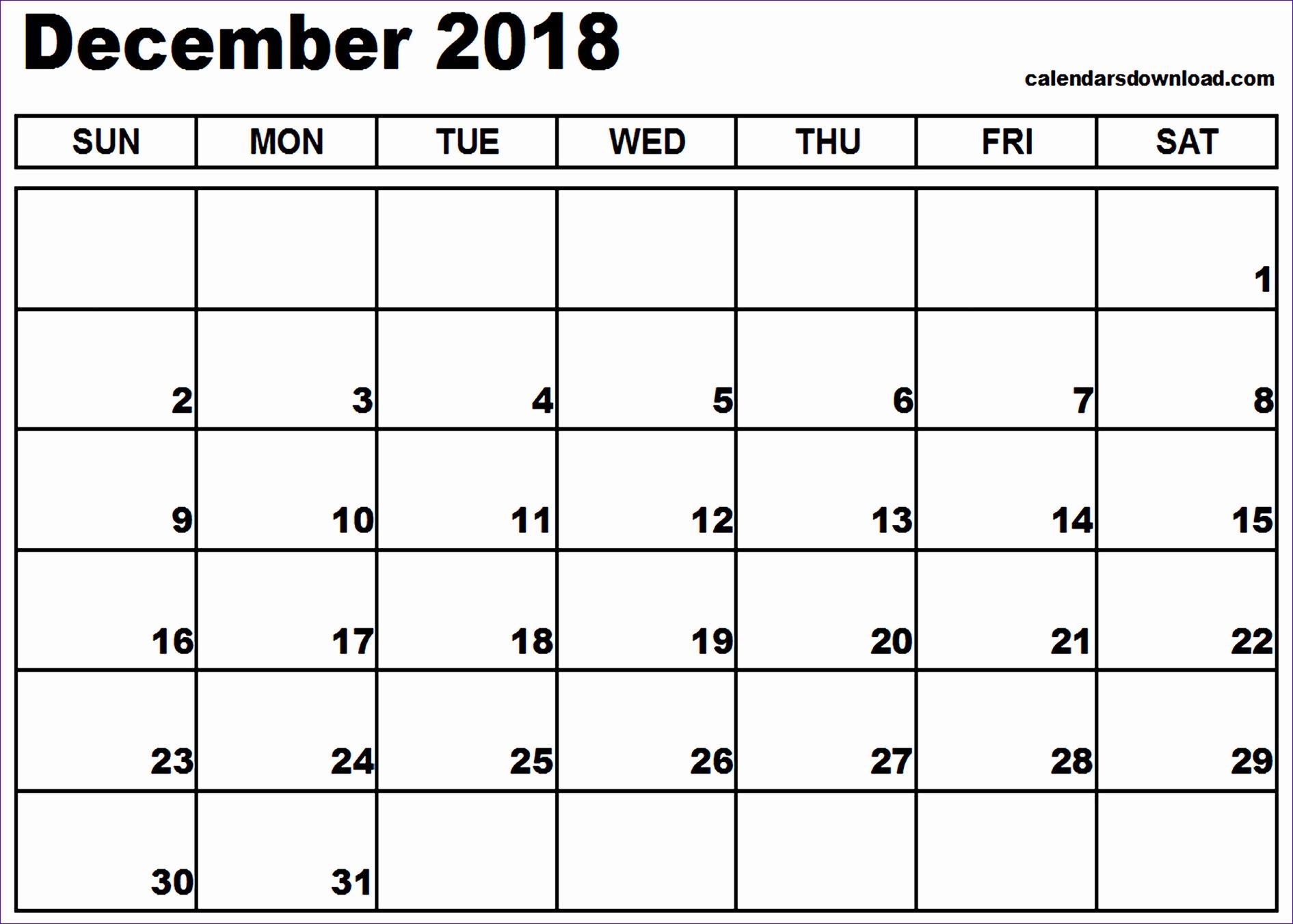 december 2018 calendar 1052 18911352