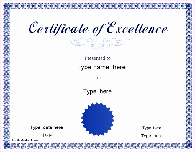 free printable certificate templates 661513