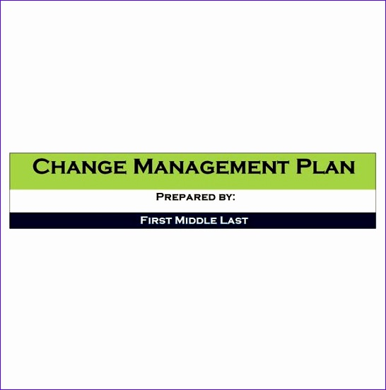 managing change planning in advance 546552
