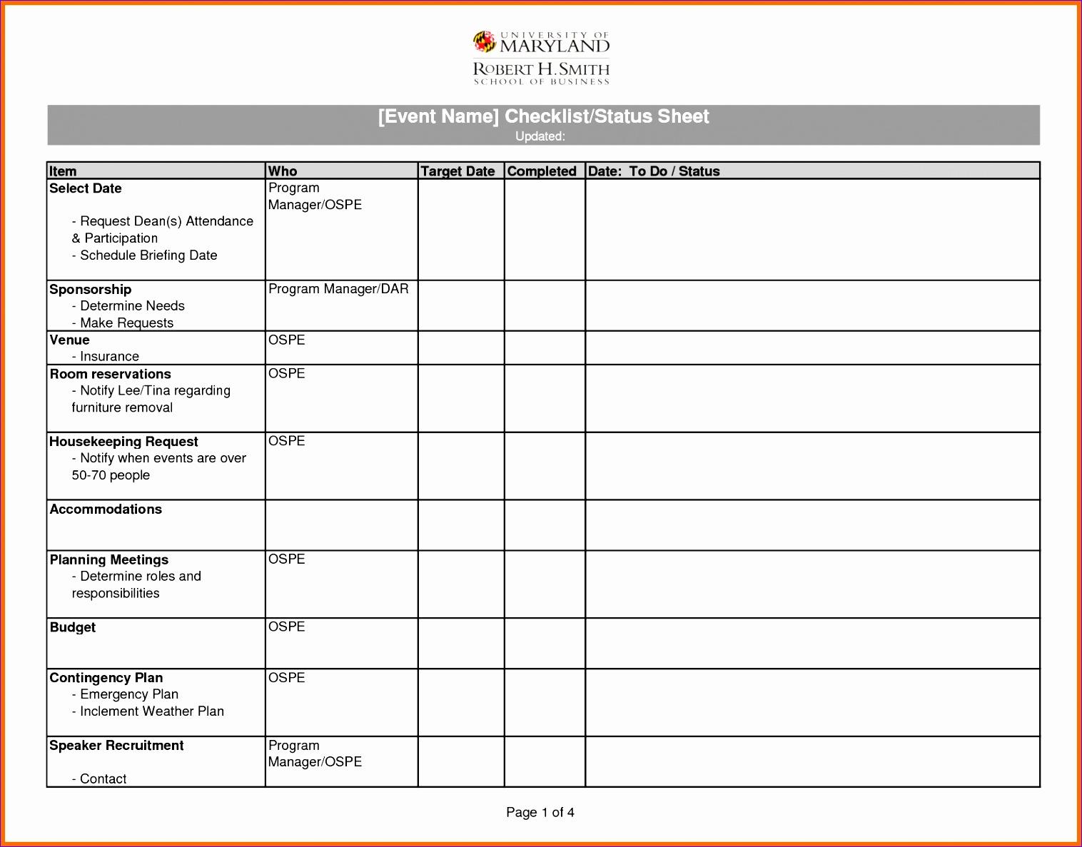 8 checklist template excel 15161187
