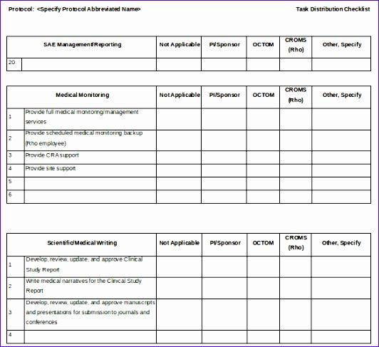 task checklist 532487