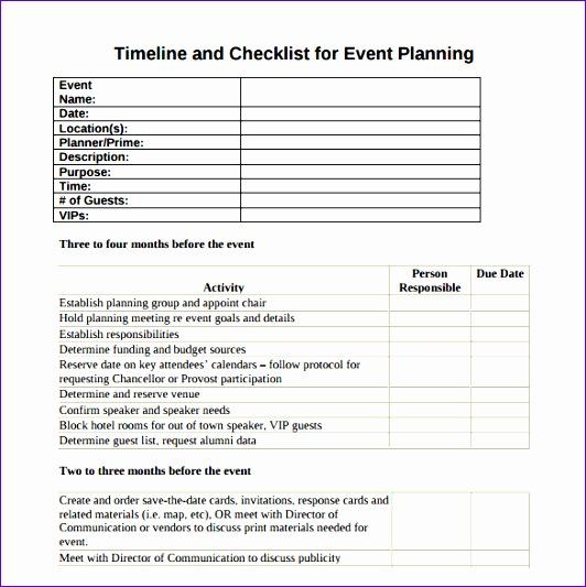 event timeline 532533