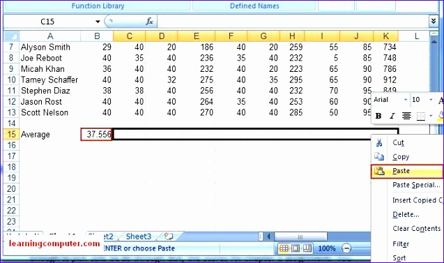 formulas tab 637377