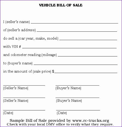format of car deposit slip