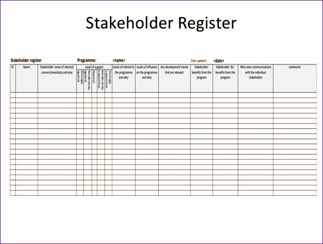 msp stakeholder management the stakeholder register 655496