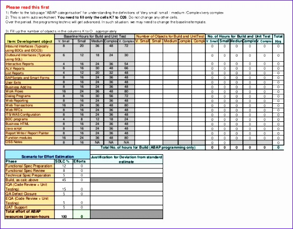 retention schedule template - 6 construction estimate excel template exceltemplates