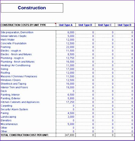 construction schedule template 455474