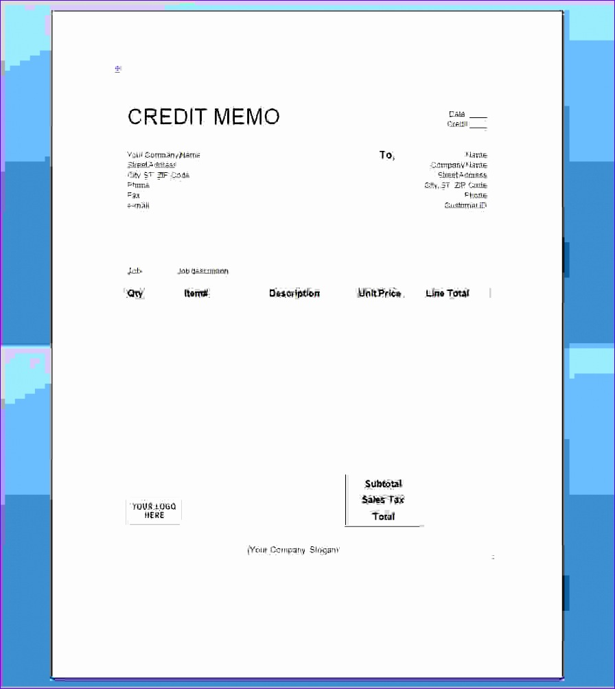 5 a credit memo is a document that 8961004