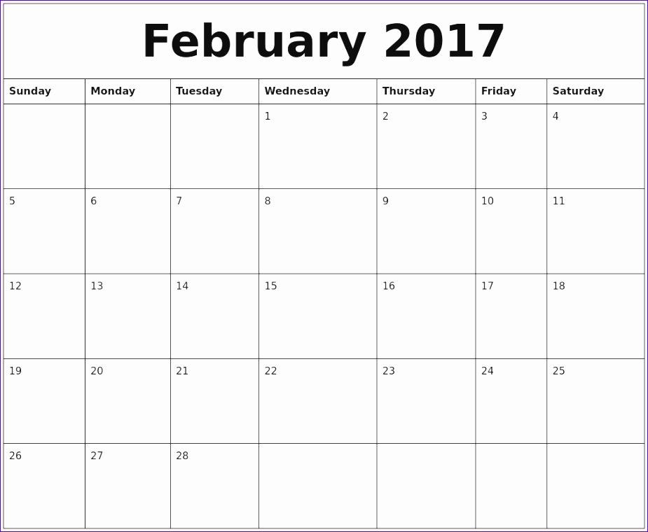 fillable 2017 word calendars 2017 calendar printable template 925760