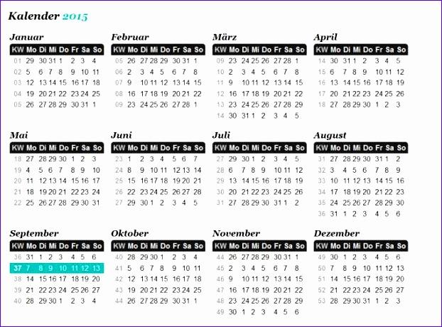 kalender mit kw 622460