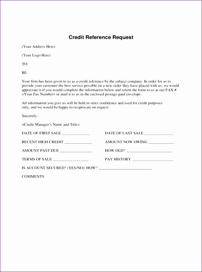 credit application form template pdf