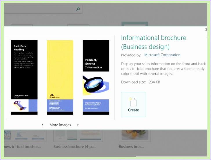 5500 create brochures using microsoft publisher 728552