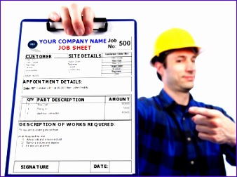 Jobsheet 338252  Job Sheet Template Free