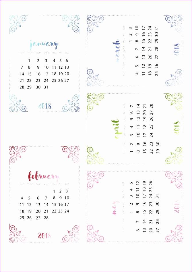 cute 2018 calendar 1808 669947