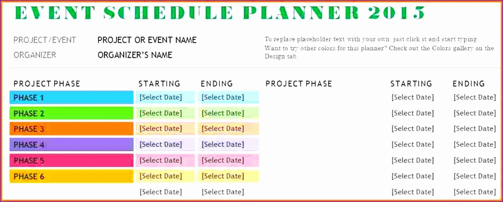 event schedule template 1017410