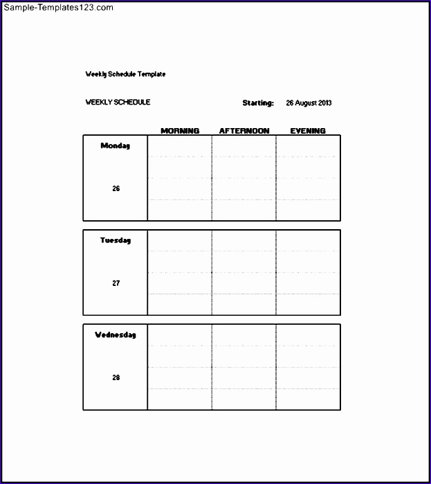 daily weekly monthly task list template 623699