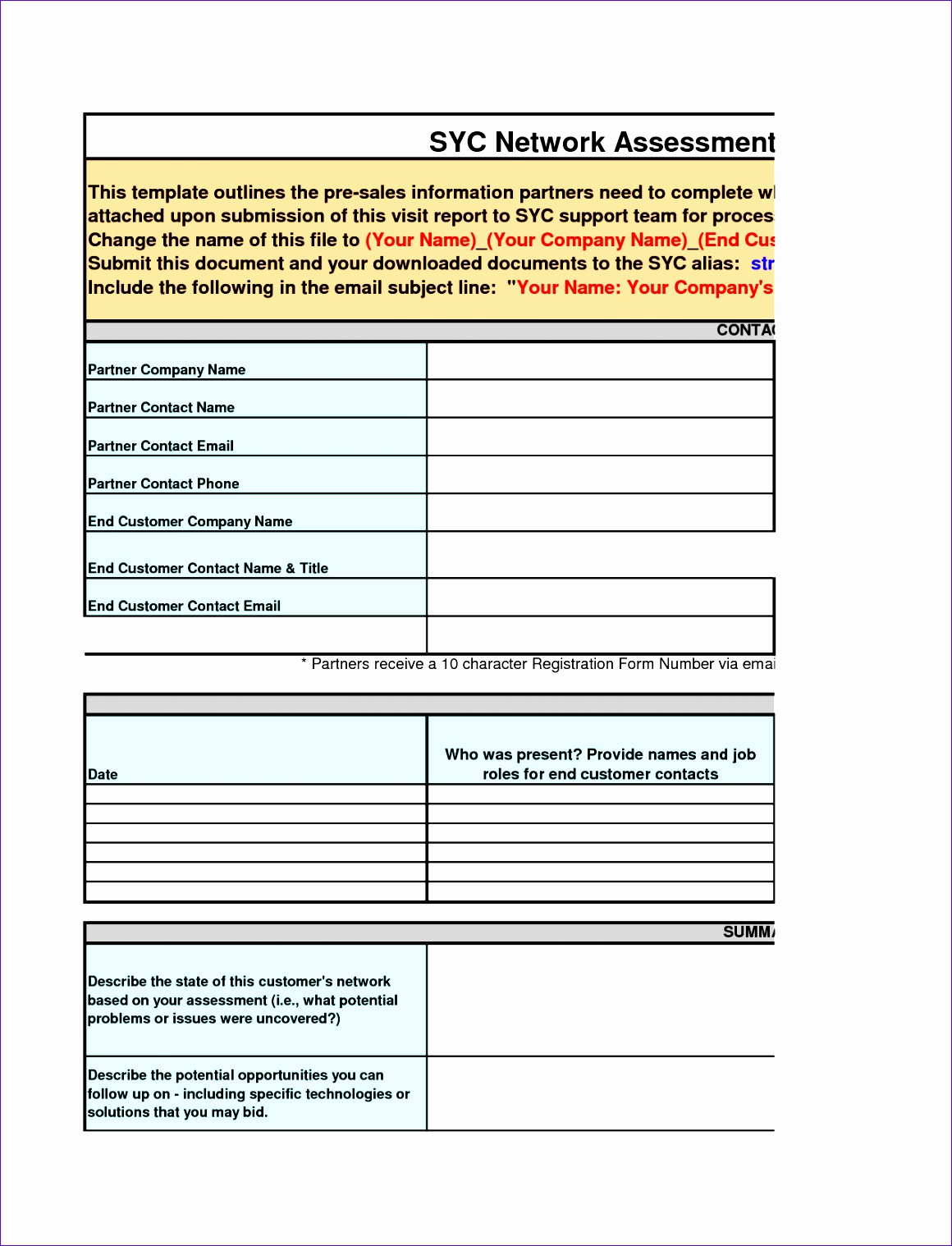 sales visit report template meeting templates word 2 11601518