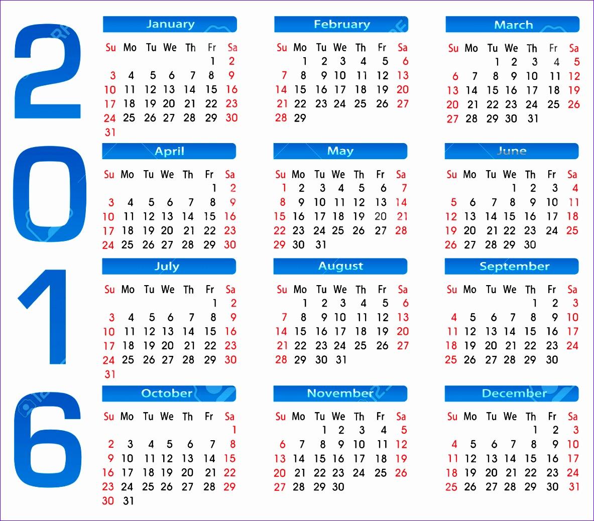 calendario 2017 vector colombia 11831038