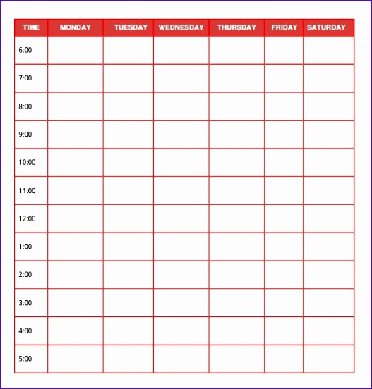 free daily planner templates 527552