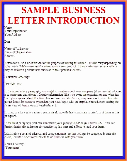 5 introductory letter for new business 516653