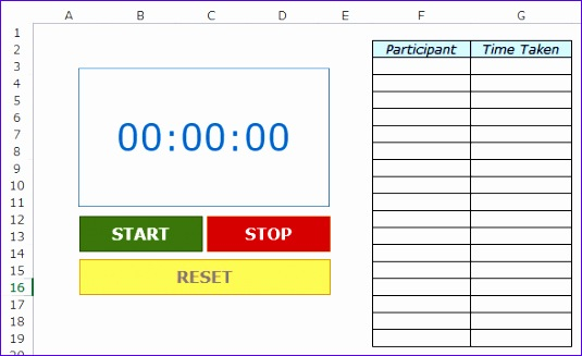 free excel templates 535327