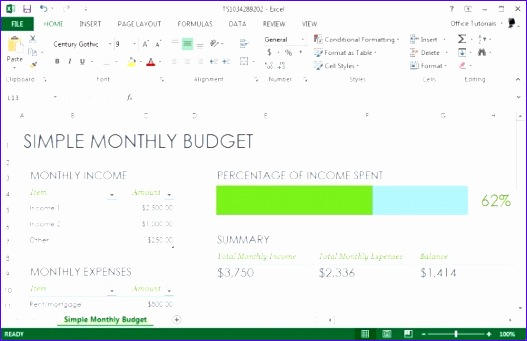 excel bud template monthly planning 527341
