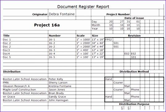 5 Document Control Template Excel Exceltemplates Exceltemplates