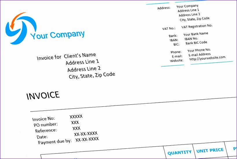 invoice example word 819552